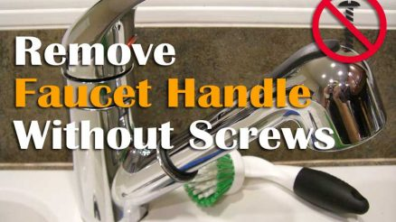 Exclusive Guide How To Remove Faucet Handle Without Screws