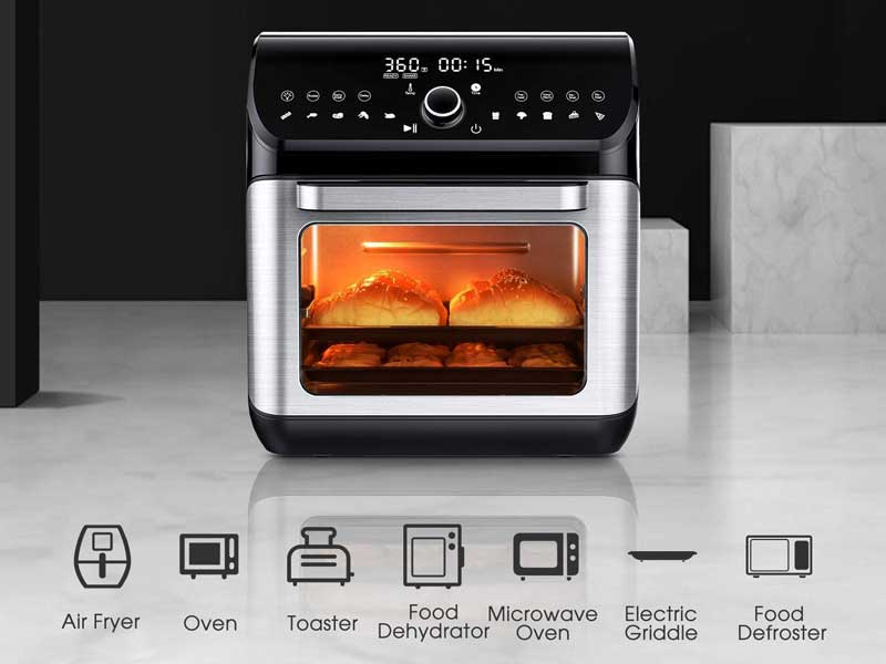 7 Best Air Fryer Toaster Oven Reviews In 2020 Crazykitchenn