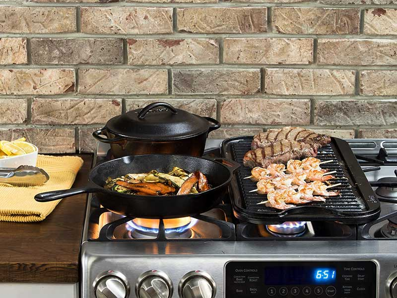 How To Choose Best Cast Iron Griddle For Gas Stove In Busy Market