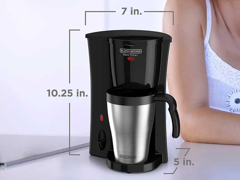 Beautiful Features Of Best Single Serve Coffee Maker No Pods Like Black Decker Coffee Maker