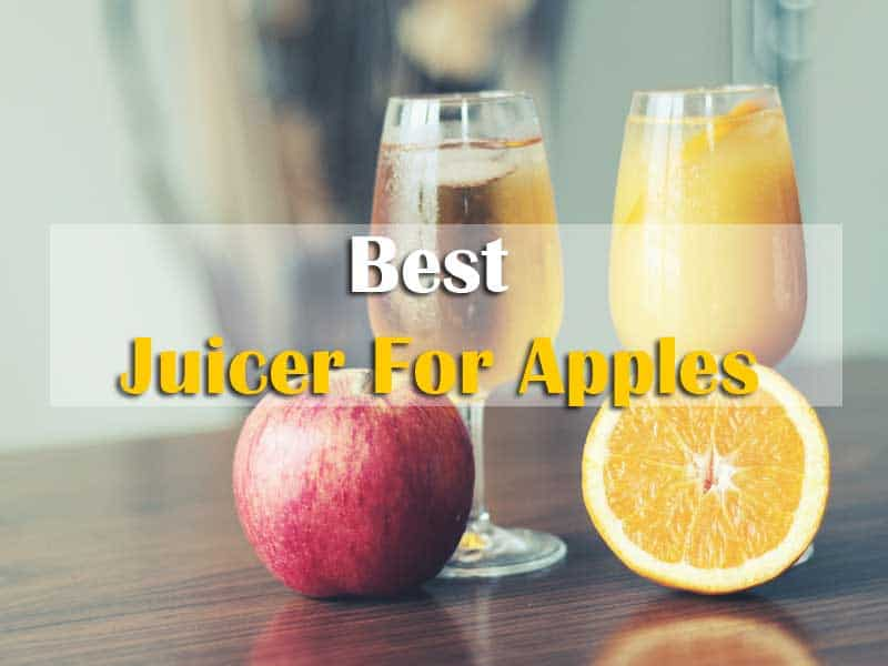 Find The Best Juicer For Apples To Compared Others Juicer In the market