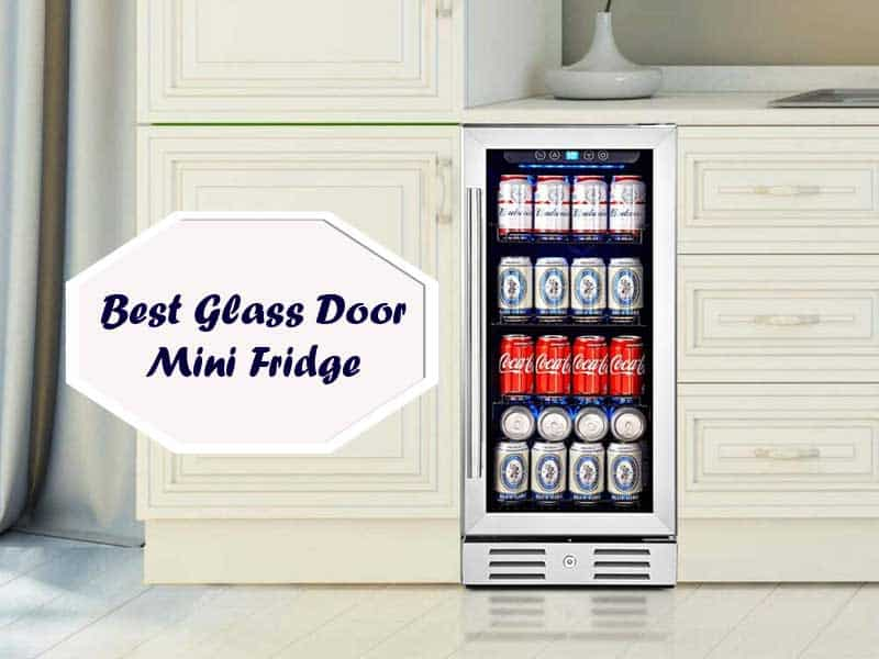 Find The Best Mini Fridge With Glass Door Reviews And Including Single Key Features