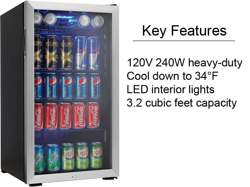 Things To Consider Before Buying The Best Mini Fridge With Glass Door With Expert Reviews