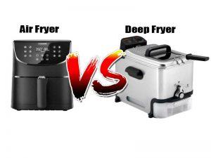 The Major Difference Between Air Fryer Vs Deep Fryer